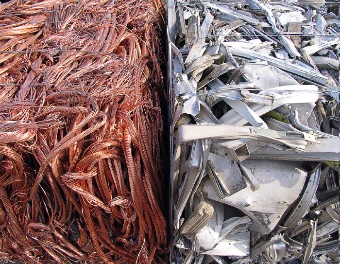 Сдать лом цветных металлов
